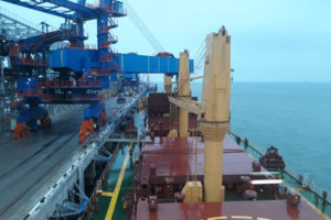 TAMAN BULK CARGOES TERMINAL LOADING OF COAL IN BULK